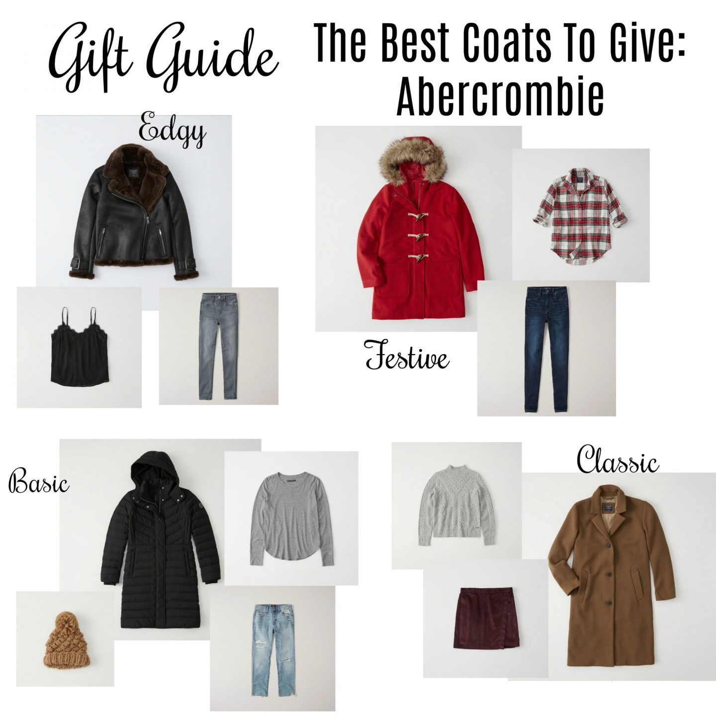 5a35ee0a Gift Guide: The Best Coats To Give ~ Abercrombie - Absolutely Airs