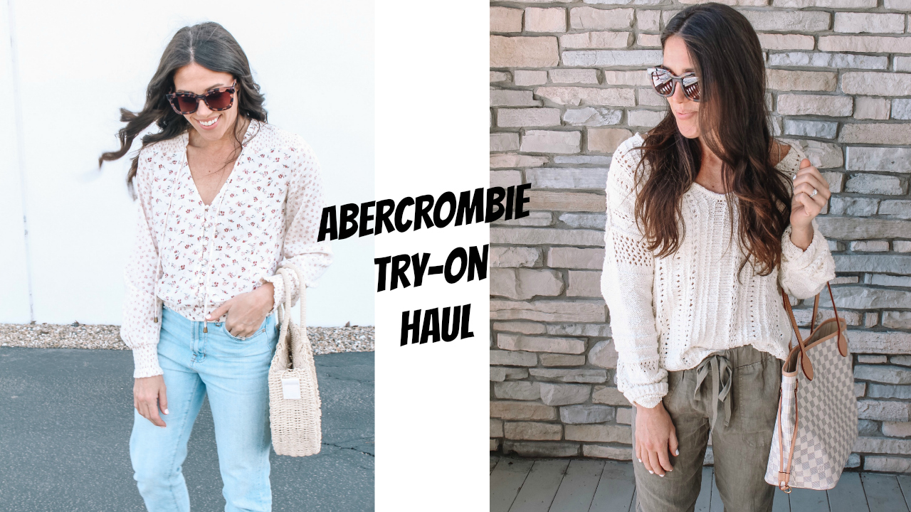 d774b373 Abercrombie Try-On Haul - Absolutely Airs